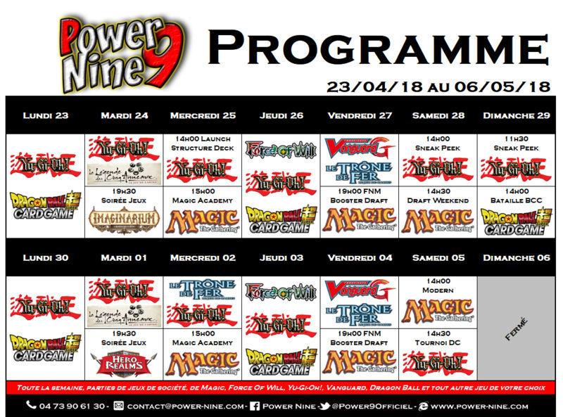 Programme des events du 23/04/18 au 06/05/18 P9_pla26