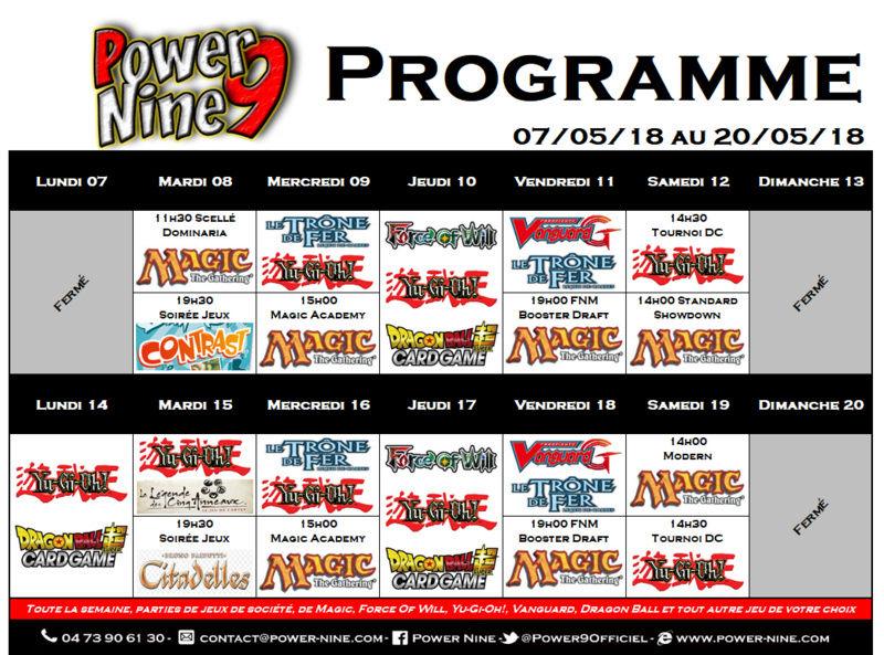 Programme des events du 07/05/18 au 20/05/18 P9_pla27
