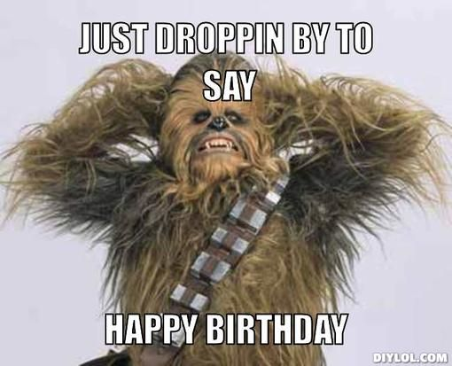 Happy Birthday, Sarge!  Chewie11