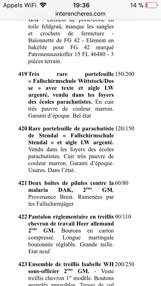 Portefeuille fallschirmjager 5ee62610