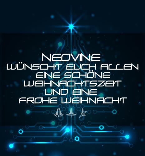Neovine wünscht frohe Weihnachten! Weihna12