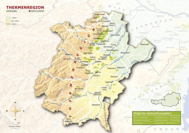 Carte des vignoble Therme10