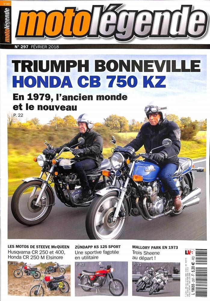 Moto Légende février:Bonneville/CB 750 KZ.... Ml11