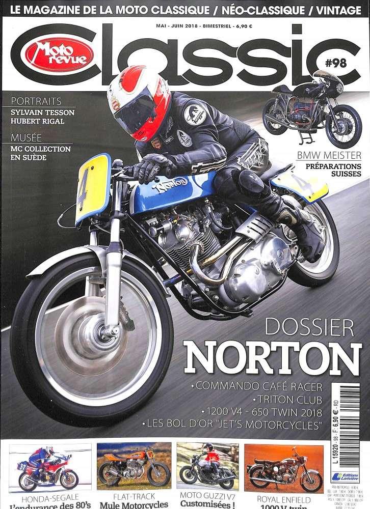Tu aimes les Norton,regarde Moto revue classic .... Mr10