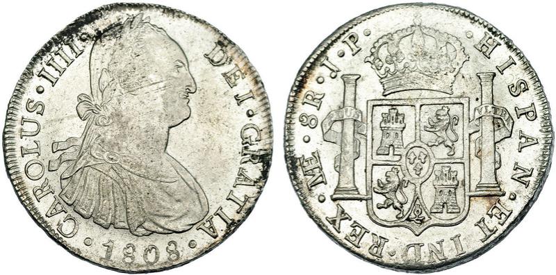 8 Reales 1799. Carlos IV. Lima 46063810