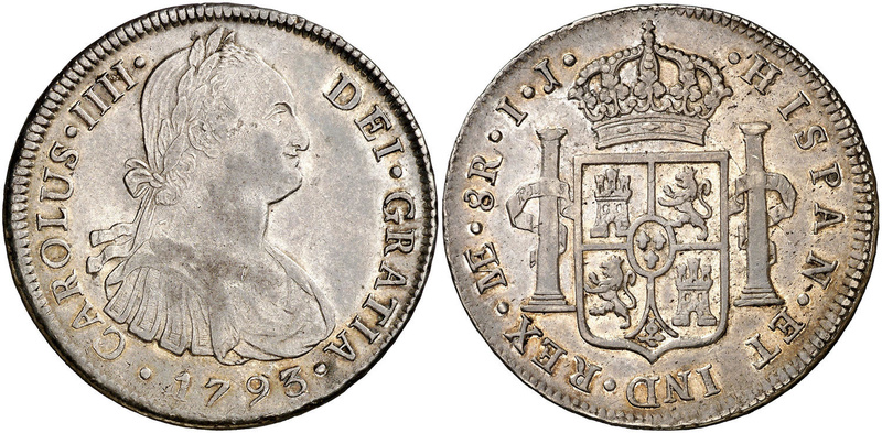 8 Reales 1799. Carlos IV. Lima 46292010