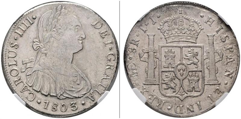 8 Reales 1799. Carlos IV. Lima 46572310