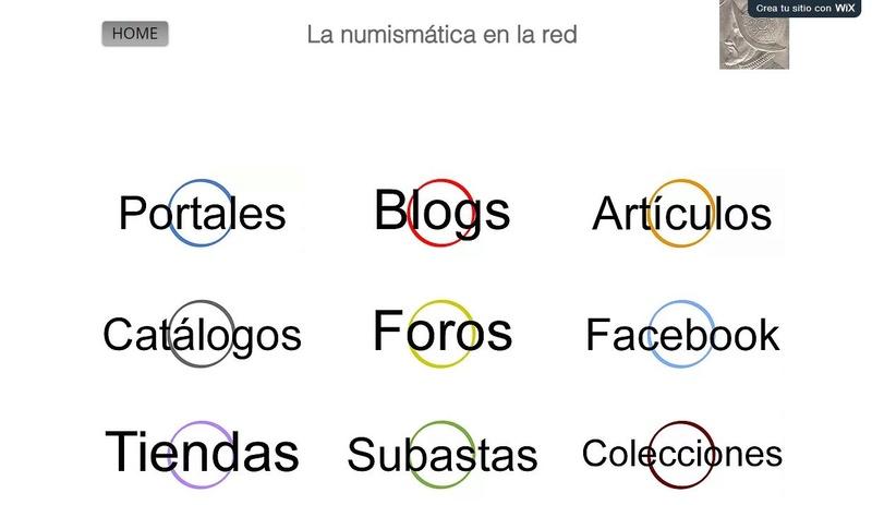 Numismática en internet, una recopilación de blogs, colecciones, etc Numism10