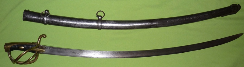Un sabre de cavalerie légère an 11 d'avant la campagne de Russie P1170414