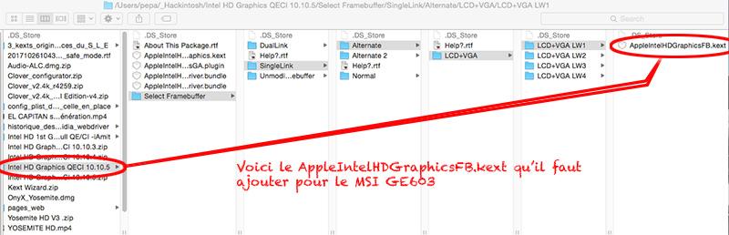 [résolu] Portable MSI GE603 204FR hackintoshable ? J'ai vu la pomme, dois je m'acharner ?... - Page 5 Msi_ge10