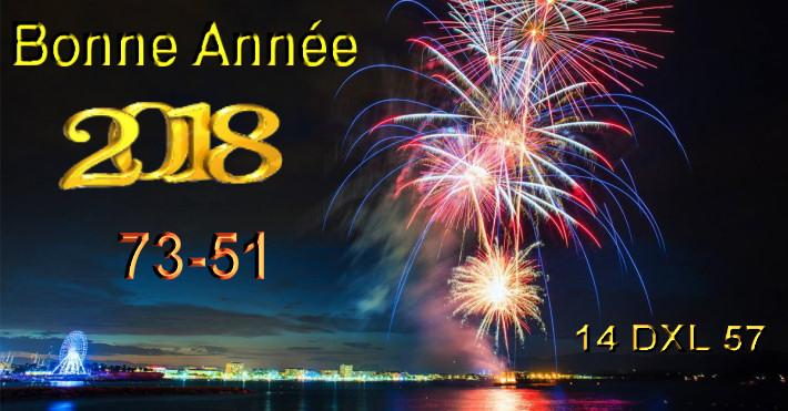 Je vous souhaite une Bonne année 2018 Meilleurs vœux Bonne santé... 2018-d10
