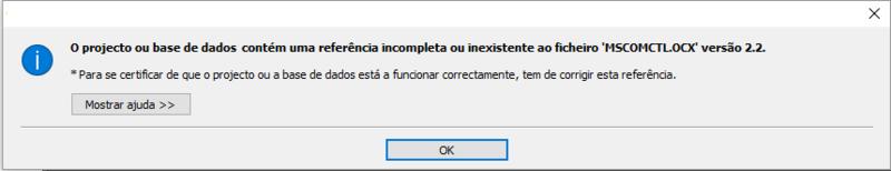 "[Resolvido] Problema com Referencia ""Microsoft Windows Common Controls 6.0 (SP6)"" Captur17"