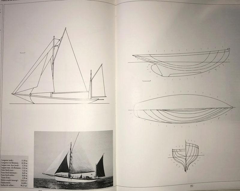recherche des plans d'un modèle de yacht classique télécommandable inachevé - Page 2 Antigo10