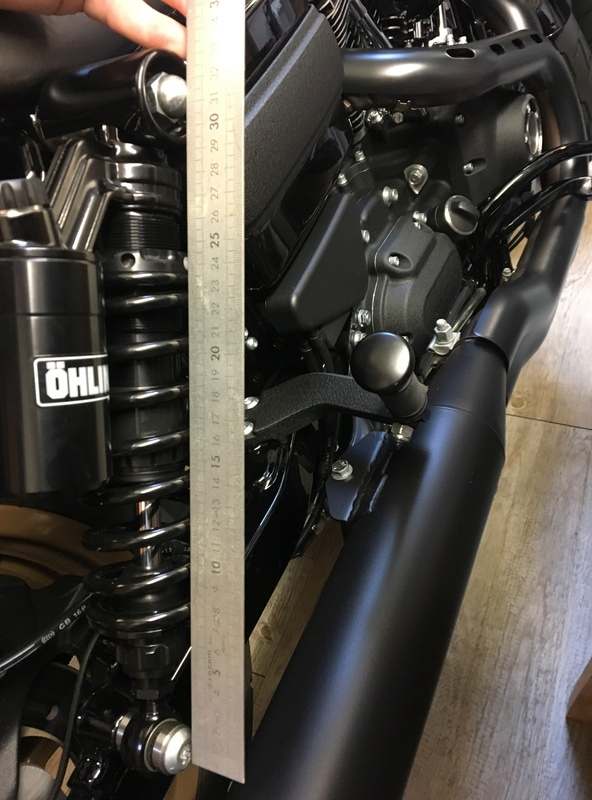 Ohlins HD 763 sur Low rider S Img_3021