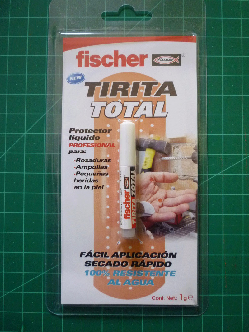 Adhesivo para heridas leves. P1120522