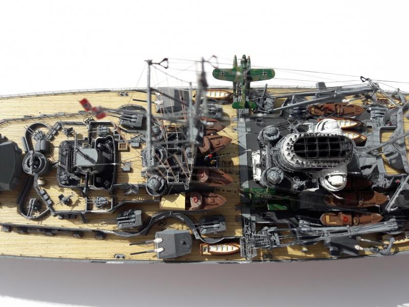 Le Bismarck amati 1:200 13197510
