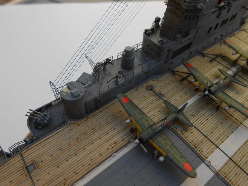Junyo Oct 1942 Hasegawa 1/350 + PE + Pont en bois 20180361