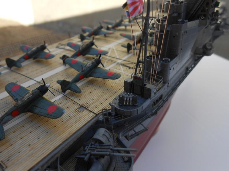 Junyo Oct 1942 Hasegawa 1/350 + PE + Pont en bois 20180376