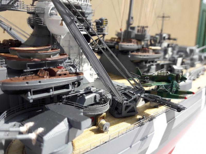 Bismarck 1/350 Revell Premium + PE 27483310