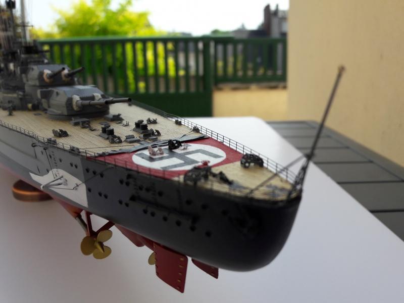 Bismarck 1/350 Revell Premium + PE 91273710