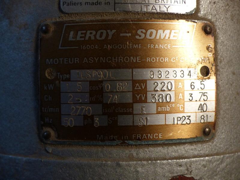 Cablage de moteurs triphasés P1040015