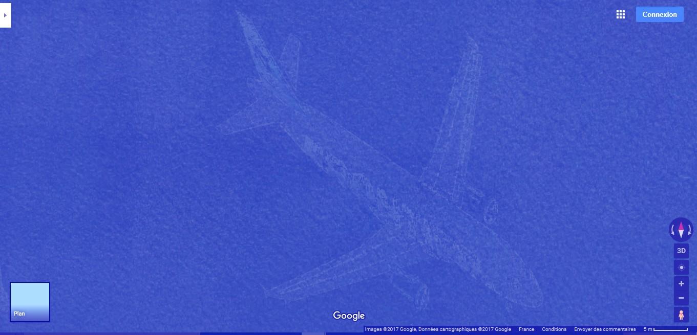Le mystérieux avion au fond du Lac Harriet, Minnesota, USA A134