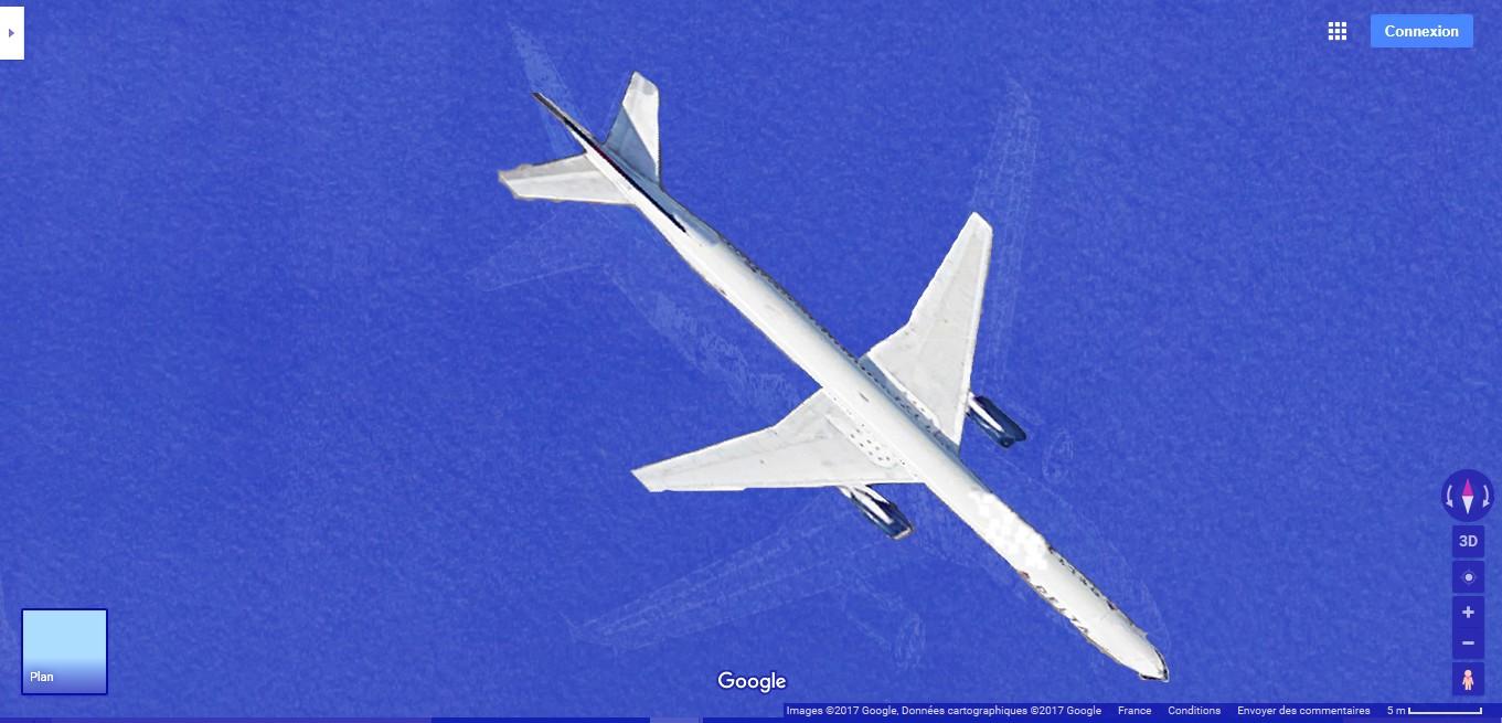 Le mystérieux avion au fond du Lac Harriet, Minnesota, USA A135