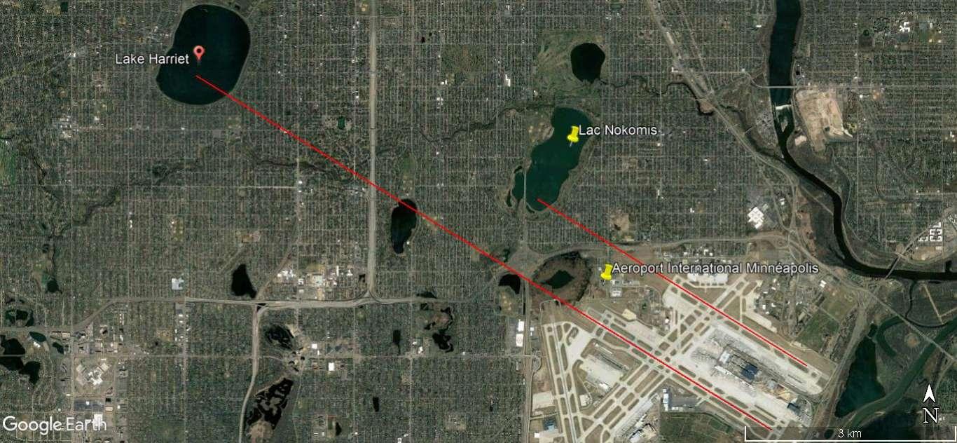 Le mystérieux avion au fond du Lac Harriet, Minnesota, USA A137