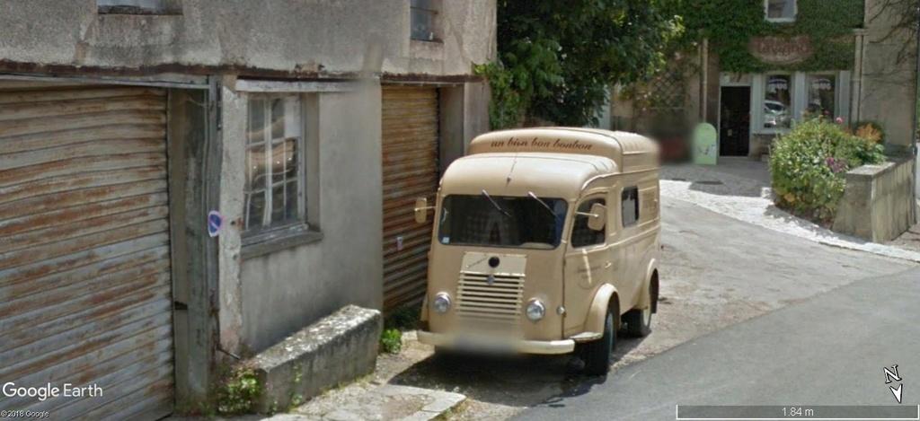 STREET VIEW: RETRO - le Citroen HY, le TUB d'après guerre. A628