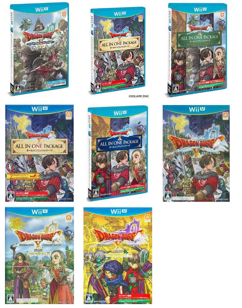 Wii U - Les différents jeux Dragon Quest X Dragon10