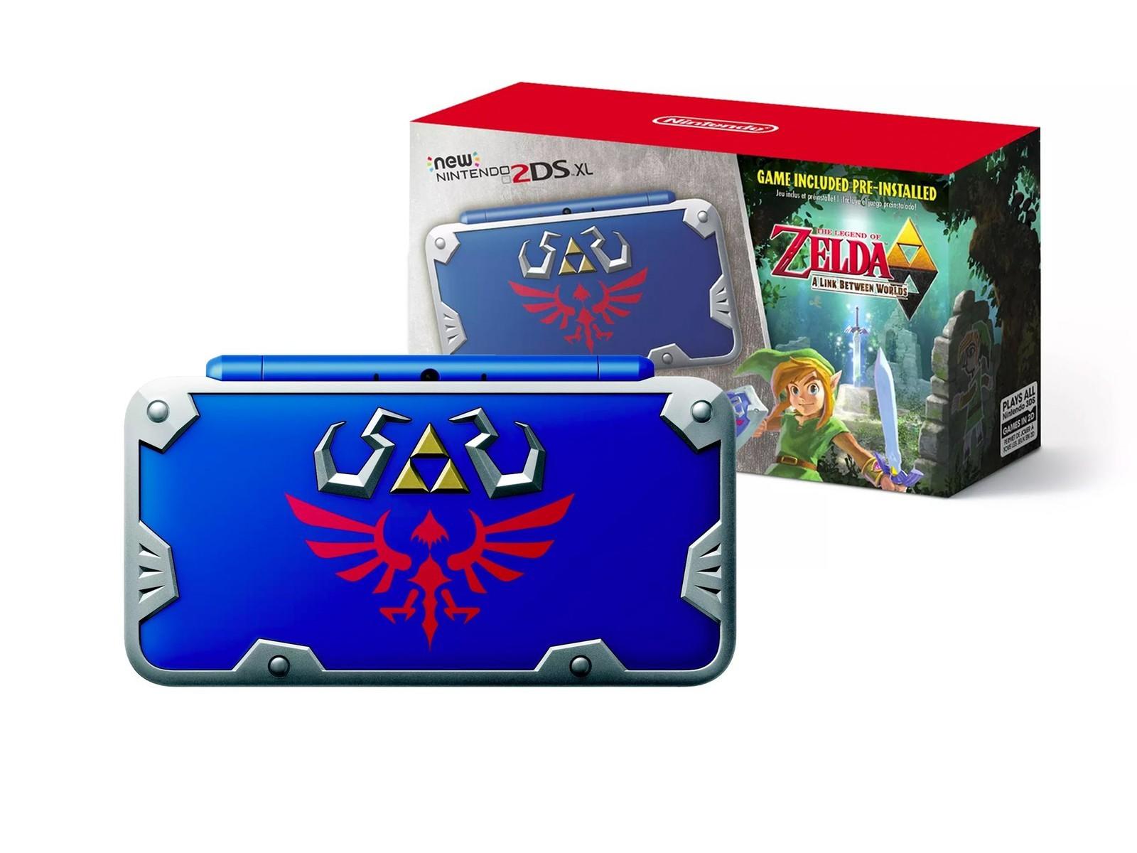 New Nintendo 2DS XL - Hylian Shield Edition Zelda-10