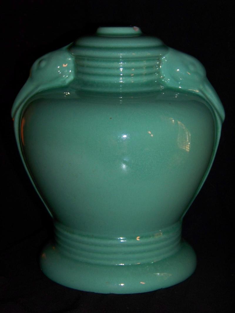 Unmarked ceramic lamp base 100_6312