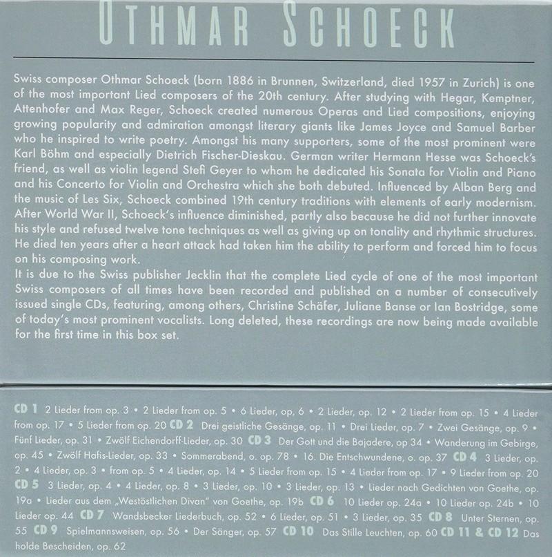 Othmar Schoeck (1886-1957) 91fdkm10