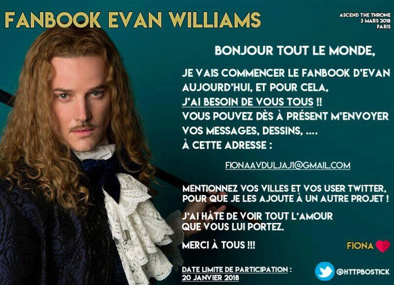 "Fanbook Evan Williams, convention ""Ascend the Throne"" Fanboo12"