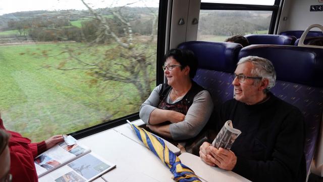 Finistère. Nord et Sud reliés grâce à la réouverture de la ligne Quimper-Brest Finist10