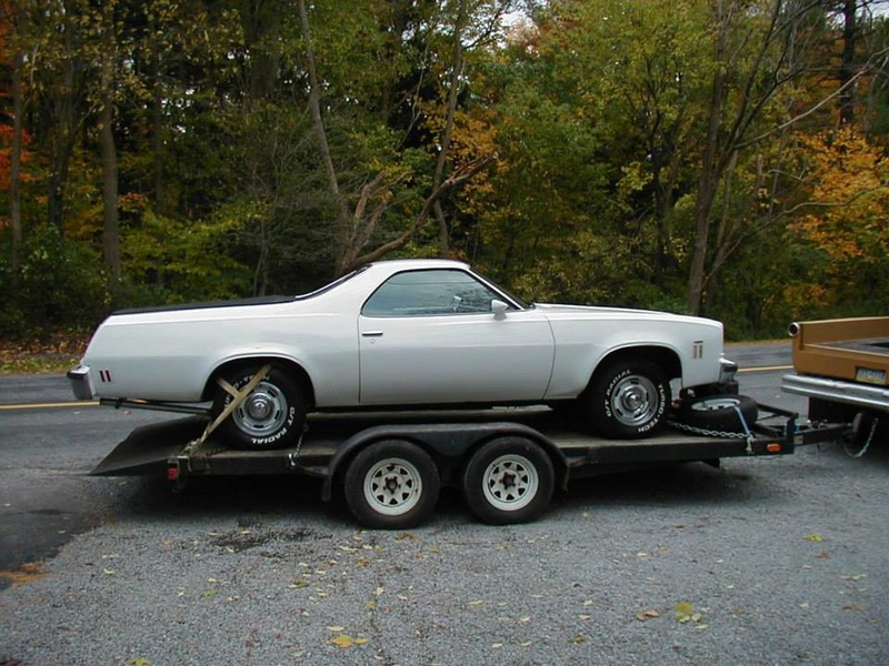 1974 El Camino SS build 13920210
