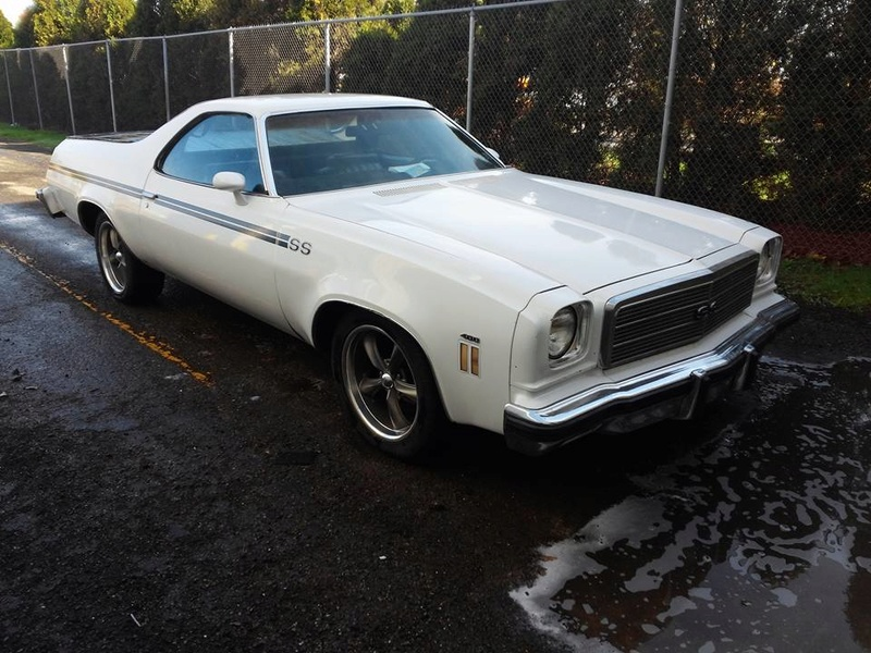 1974 El Camino SS build 13962610
