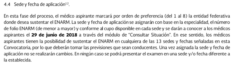 Novedades en la Convocatoria ENARM 2018 Captur10