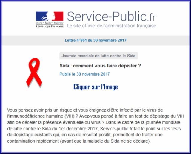 """La lettre N° 861 de """"Service Public"""" pour le 30 Novembre 2017 86110"""