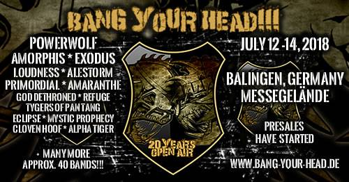 BANG YOUR HEAD 2018 Bth10