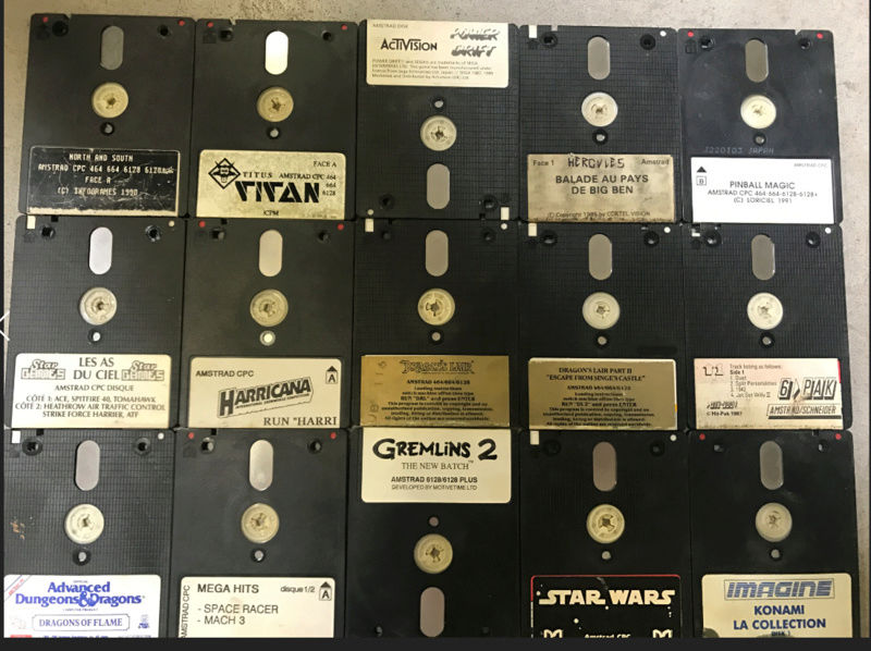 [EST] Plusieurs jeux Amstrad cpc 310