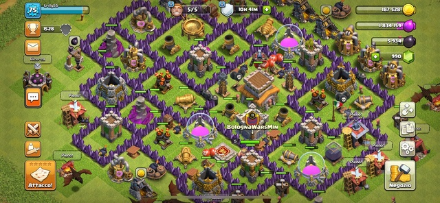 "Android game ""Clash of clans"" 17454410"