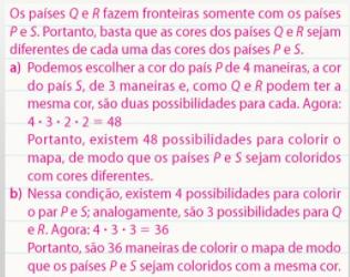 Combinatória, colorir mapa 4 cores Aeee10