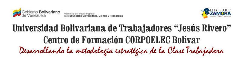 ACICP Corpoelec Bolívar 2017