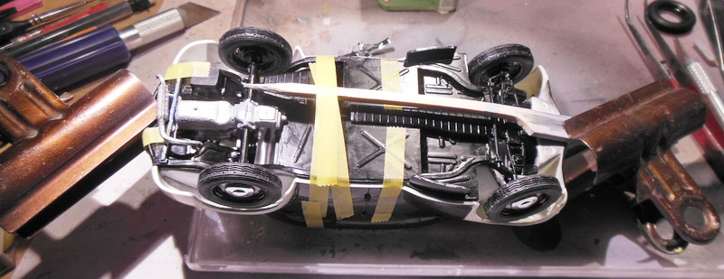 """Renault 4 cv """"pie"""" : la construction est terminée ! Dscn0343"""