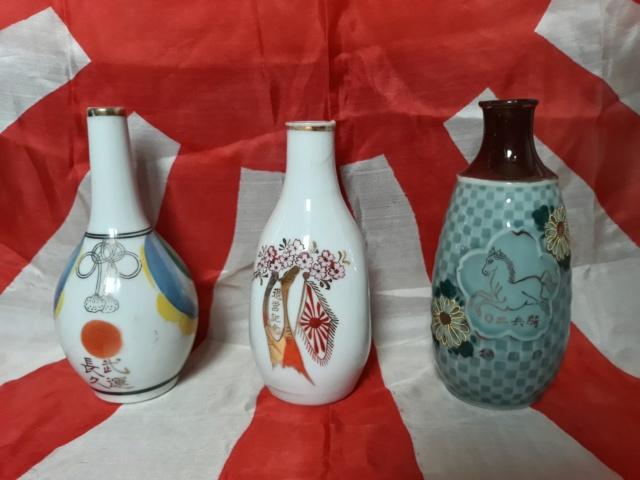 le saké dans l'armée japonaise et ses accessoires pendant la seconde guerre . 20191016