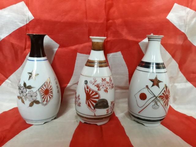 le saké dans l'armée japonaise et ses accessoires pendant la seconde guerre . 20191017