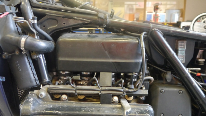 Removing the Air Box P1020010