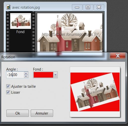 """N° 85 PhotoFiltre Studio """" ROTATION PARAMÉTRÉE""""   - Page 2 Ajoute10"""