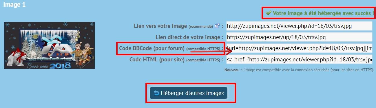 Comment héberger une image ou vidéo Fin10